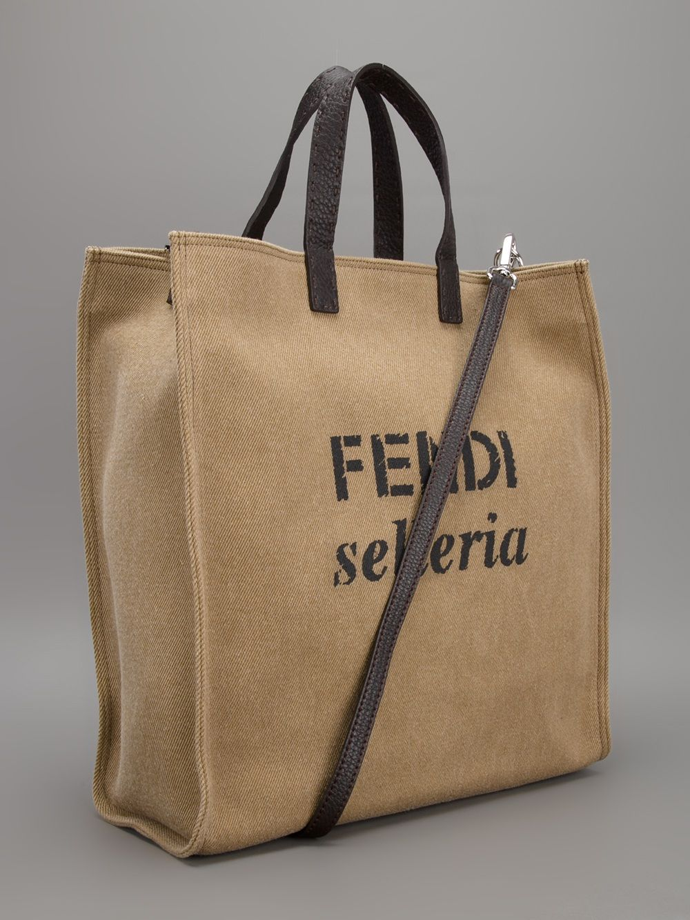 Fendi 'Selleria Shopping Tote' | leather goods | Bags ...