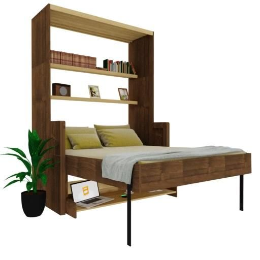 Photo of Wall bed with desk
