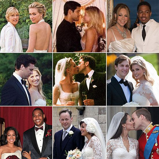 Celebrity Wedding Vows Examples: The Ultimate Celebrity Wedding Gallery