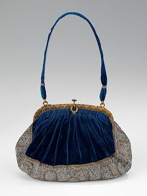 Evening purse,1910-1920, French.