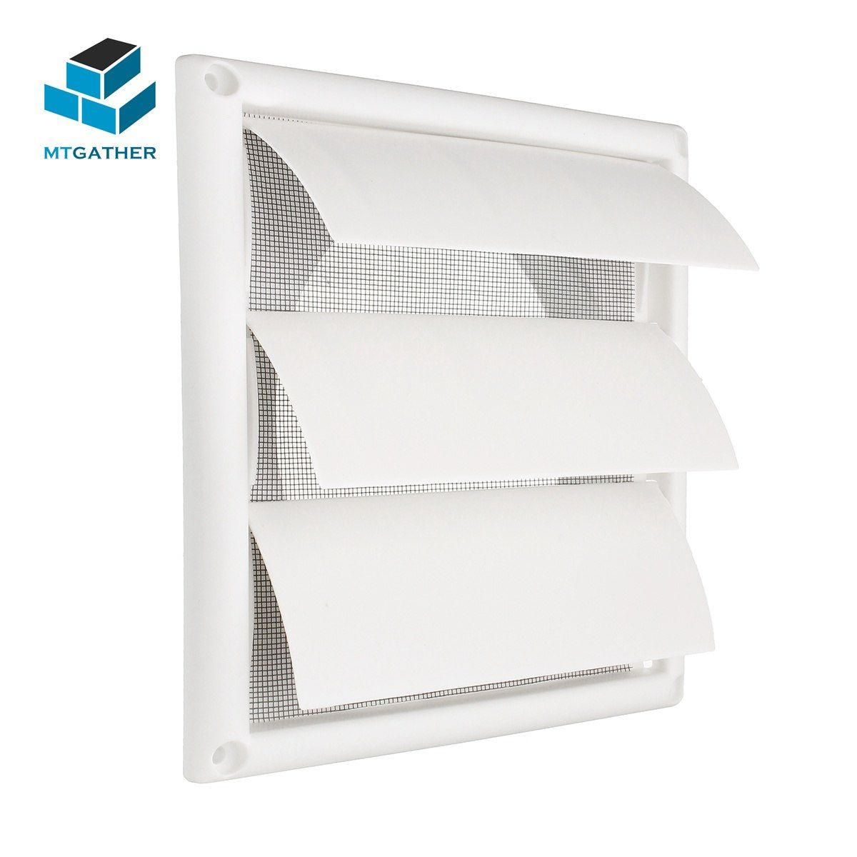 Mtgather Air Vent Grille Ventilation Cover Plastic White Wall