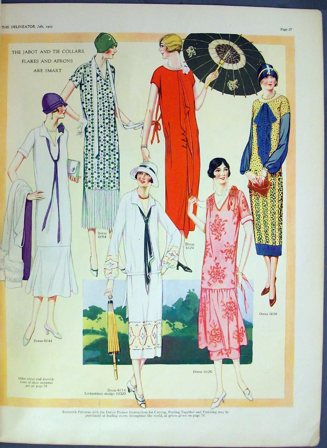 Delineator s fashion history and fashion vintage