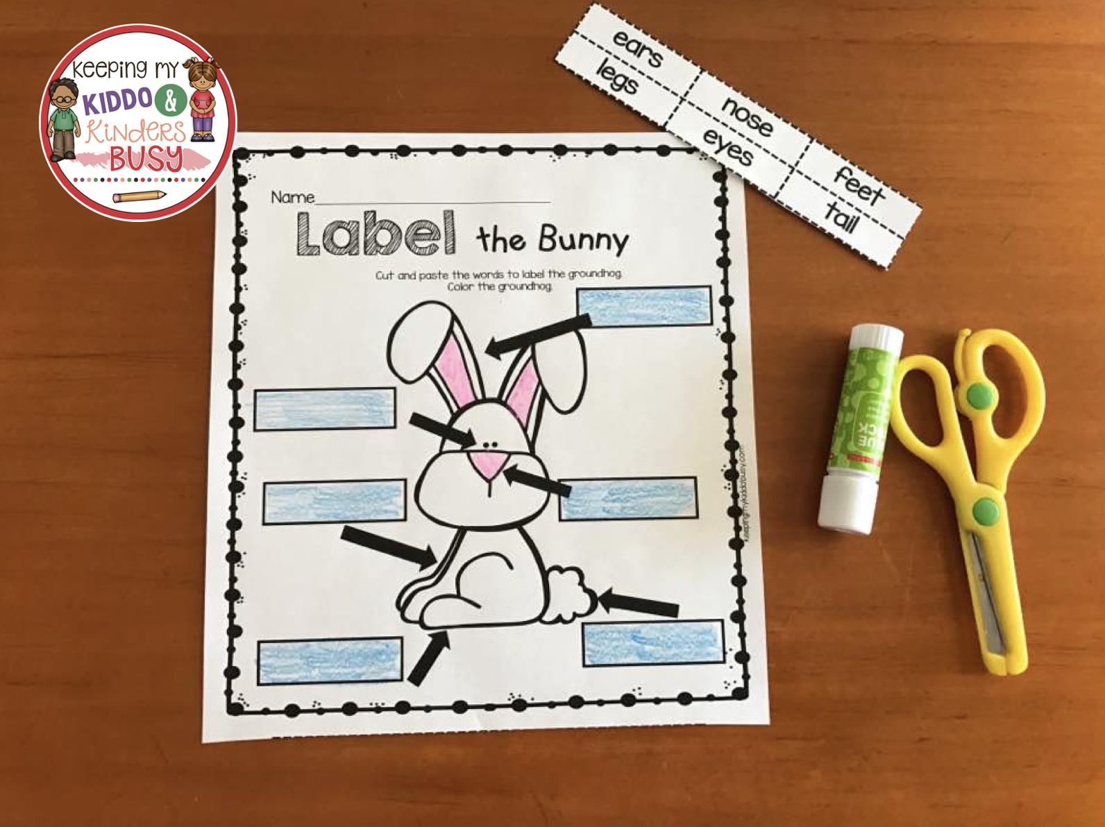 April In Kindergarten