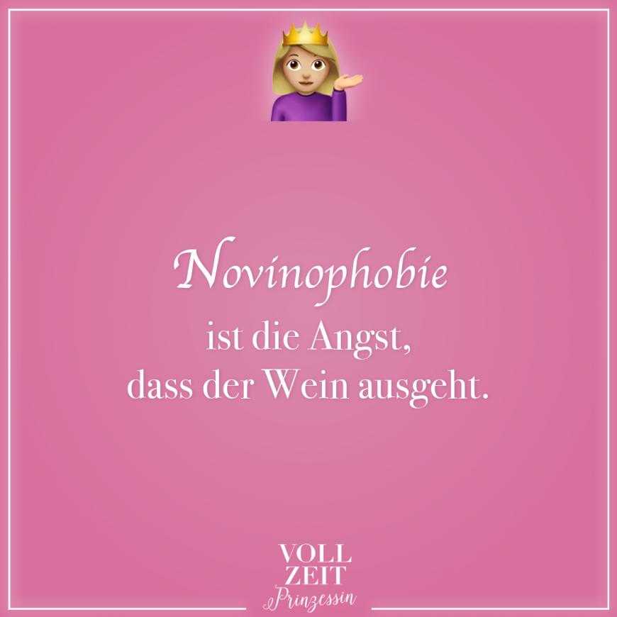 Novinophobie ist die Angst, dass der Wein ausgeht   Visual ...