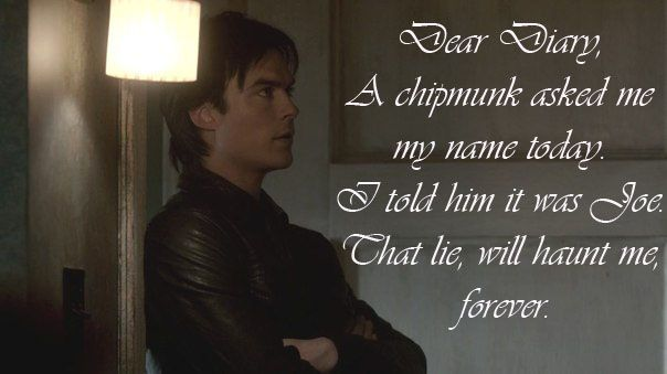 Damon Salvatore Quotes - Vampire Diaries Season 3 - Best ...