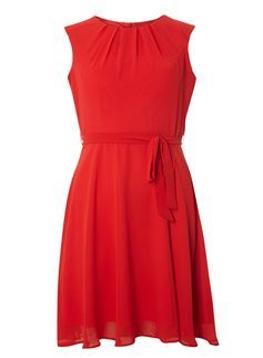 Robe rouge petite taille
