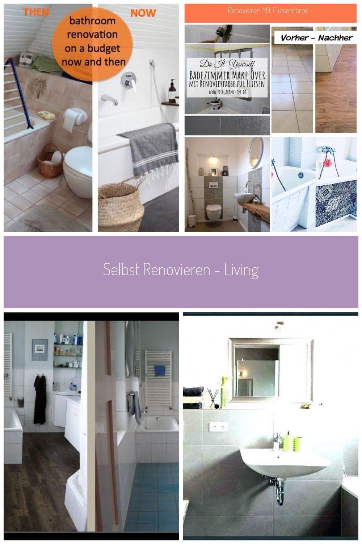 Selbst Renovieren Living In 2020 Mit Bildern Badezimmer