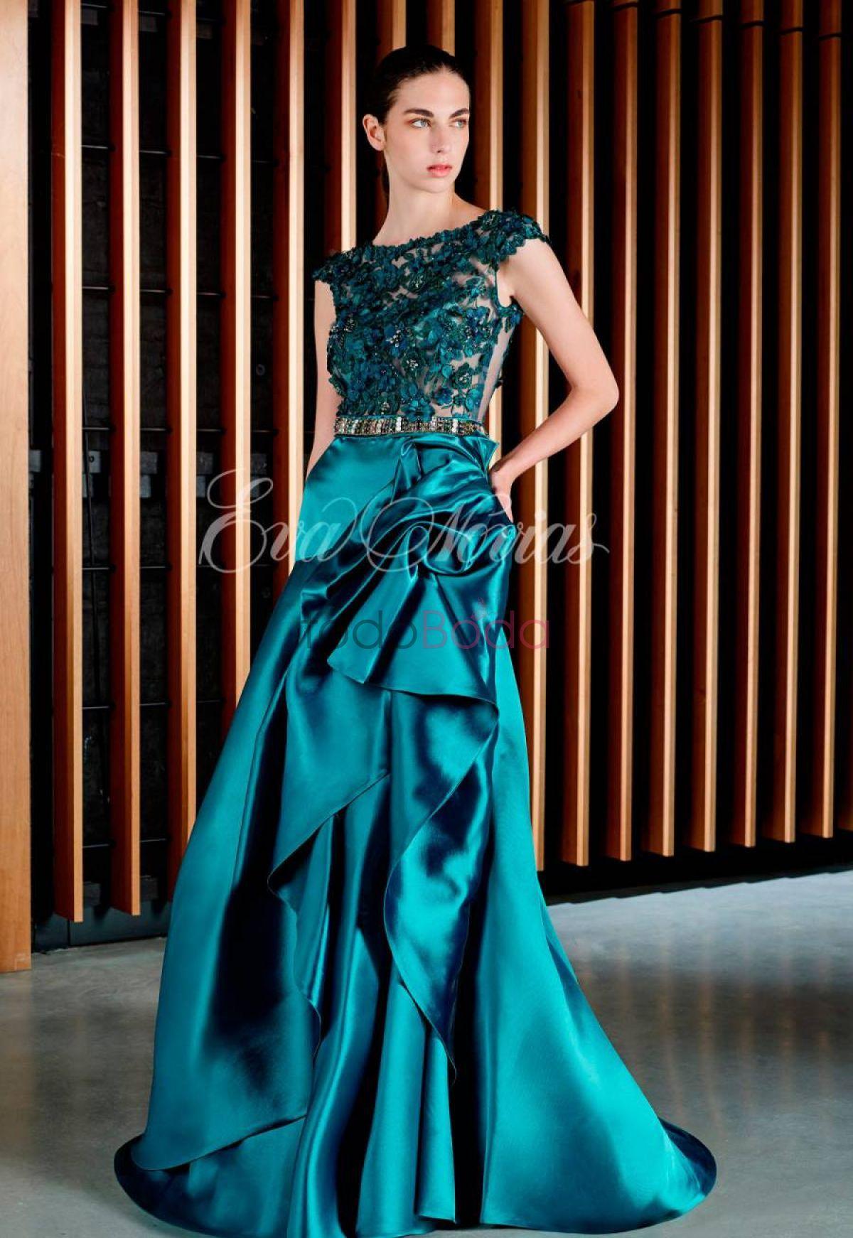 Vestido de fiesta Patricia Avendaño Modelo 3032   vestidos ...