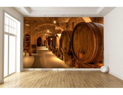 Wine Cellar in Tuscany A wall mural from Muraluniquecom https