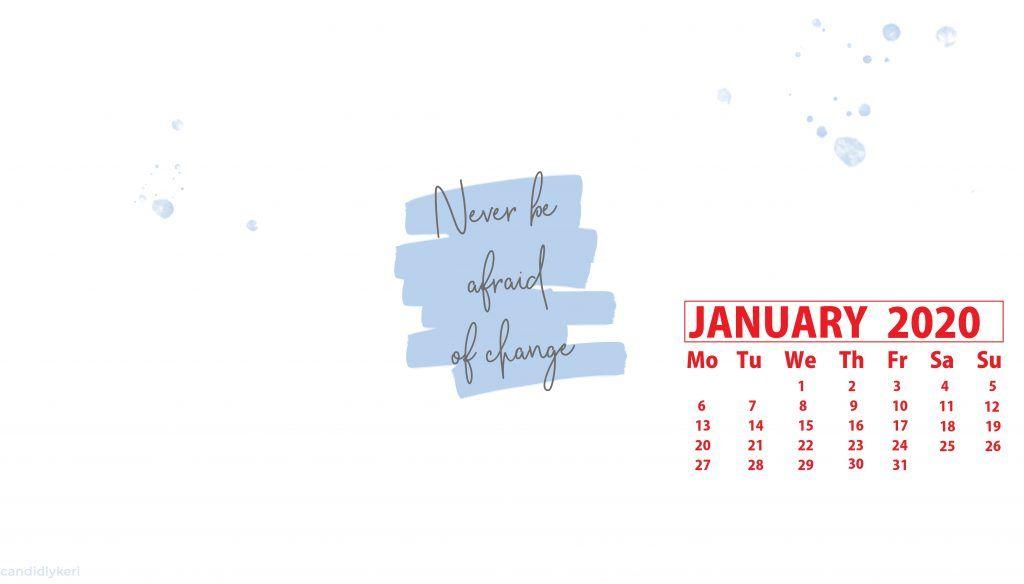 January 2020 Hd Calendar Wallpaper Calendar Wallpaper Kids