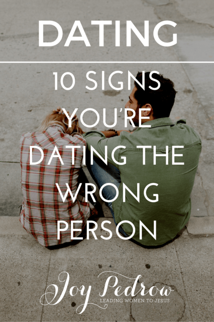 Dating advice ignored