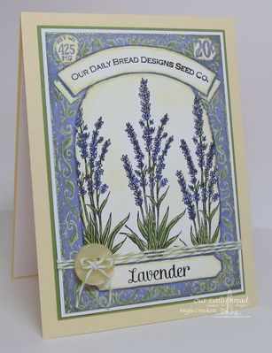 Stamps Our Daily Bread Designs Lavender Seed Packet Cards Floral Cards Diy Stamp
