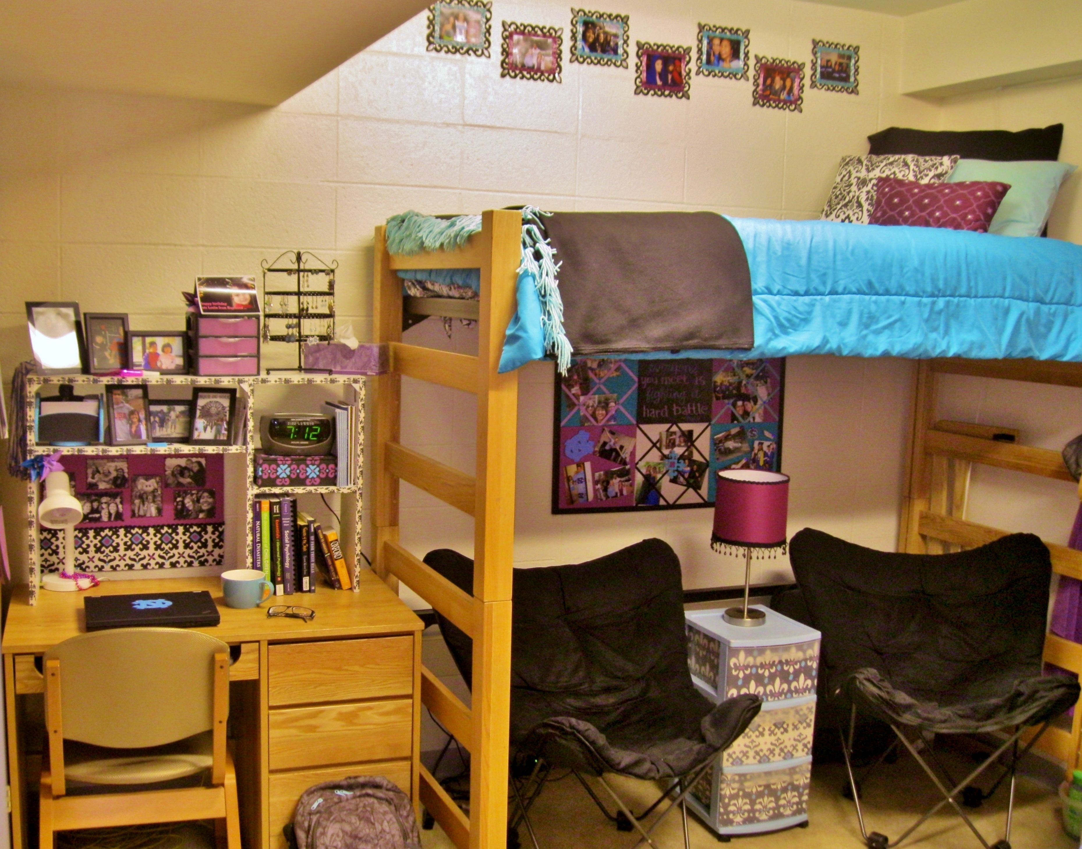 A Room In Morrison Hall At Unc