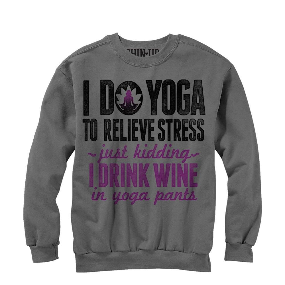 Per Alleviare Lo Stress Che Faccio Yoga ... Felpa 8WtM5