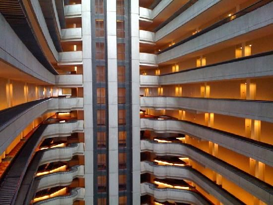 Marriott Marquis Hotel Atlanta Georgia