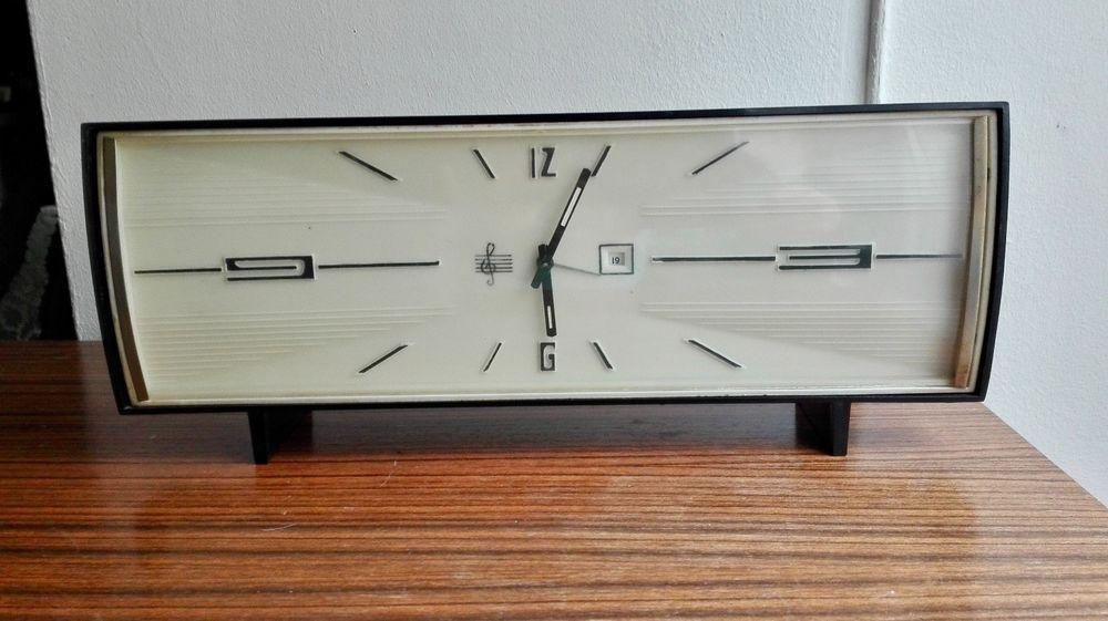 Grand réveille,Horloge vintage \ - alarme porte d entree
