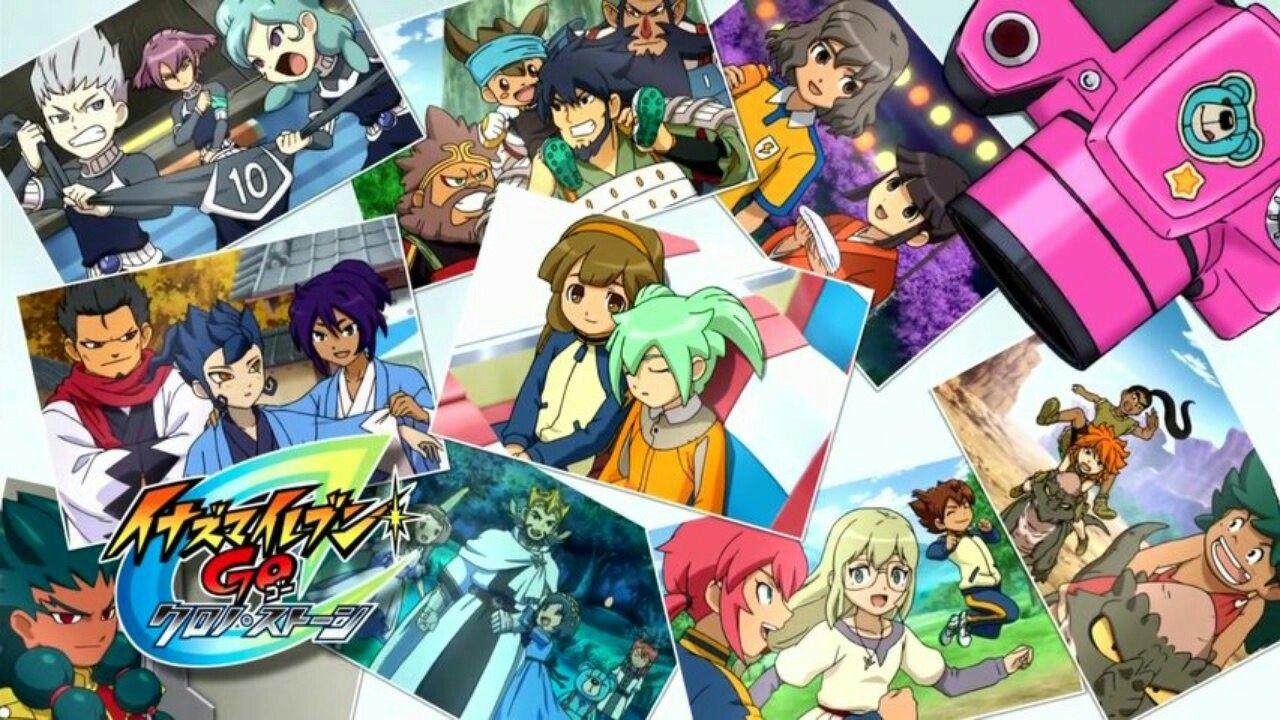 Inazuma Eleven Go Chrono Stone Anime Cartoon Chibi