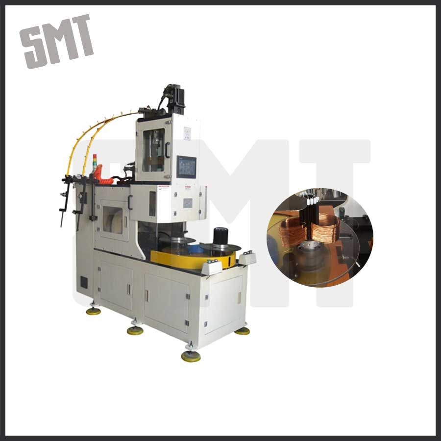 Stator Wire Coiling Machine Made for Table Fan Induction Motor Winding
