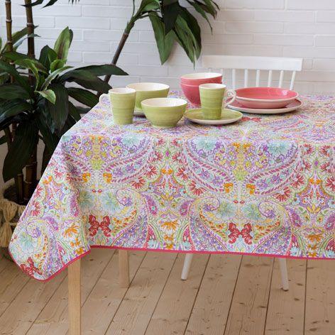 Floral Print Laminated Tablecloth   Tablecloths U0026 Napkins   Tableware |  Zara Home Turkey