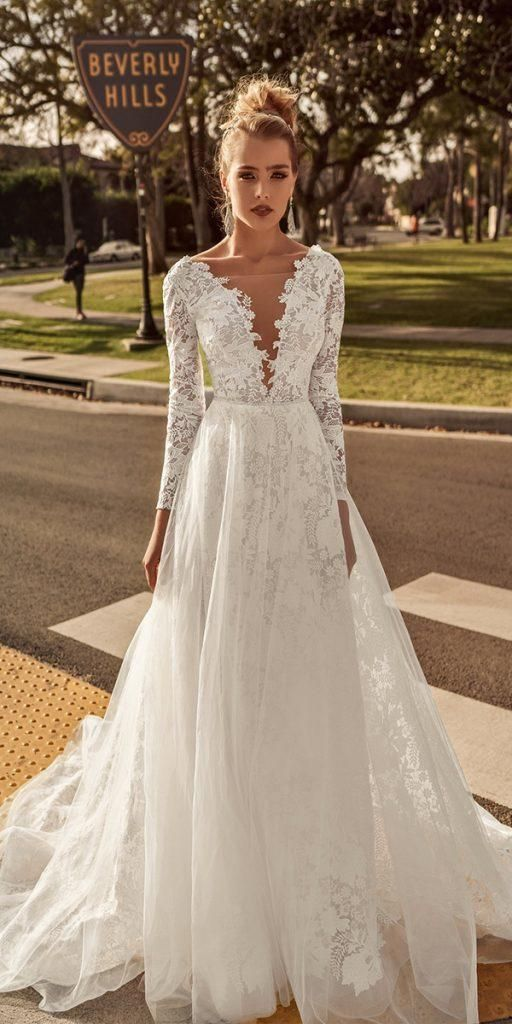 Lace Wedding Dresses With Sleeves