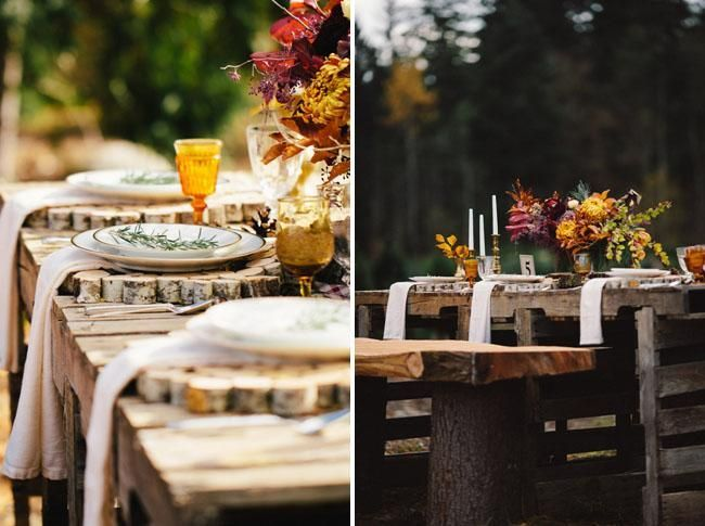 Vintage-Americana Wedding Inspiration #dishware Vintage-Americana Wedding Inspiration - vintage dish ware, amber glass and vases from Vintage Ambiance. Projecthursday Photography #dishware