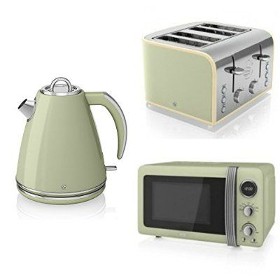Microwave Triple Packs From Our Mive Selection Wide Range Gorgeous Styles And Colours Of Kettle Toaster Sets To Match Your Kitchen