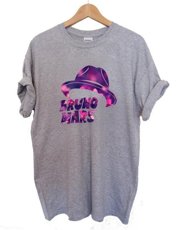 21fe44f616d4 Bruno Mars Hat T Shirt Size S,M,L,XL,2XL,3XL | TShirt | Shirts, T ...