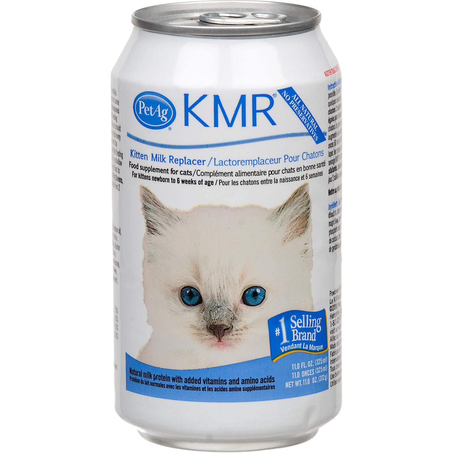 Petag Kmr Kitten Milk Replacer Liquid 11 Oz Kittens Cat Food Pets