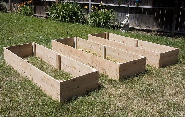 Superior Rectangular Raised Garden Beds