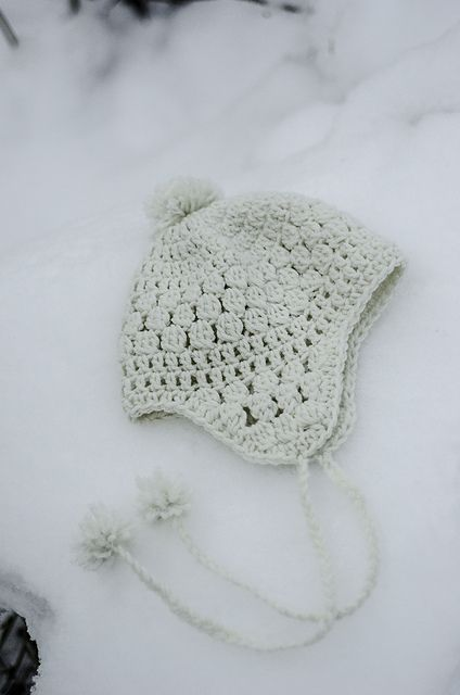 Snowbelle Trapper Hat Pattern By Kalurah Hudson Crochetholic
