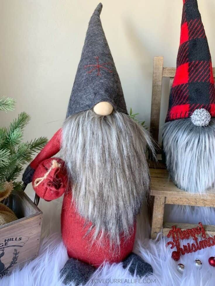 How To Make Christmas Gnomes  Sew And No Sew Instructions