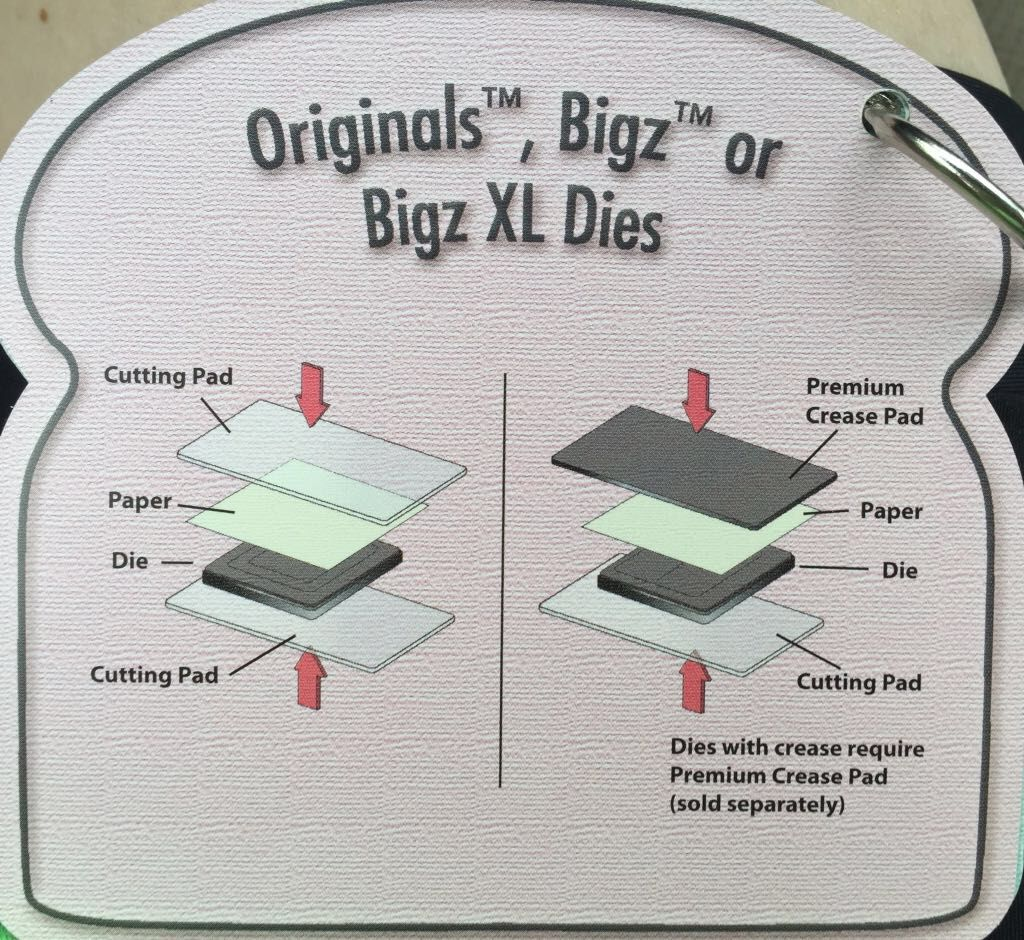 Sizzix Die Cutter  RECTANGLE PLAQUE fits Big Shot Cuttlebug