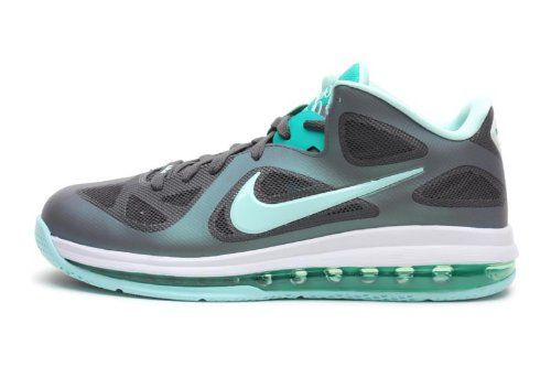a898556661e Nike Lebron 9 Low Easter Mens Basketball Shoes Dark Grey Mint Candy-Cool  Grey
