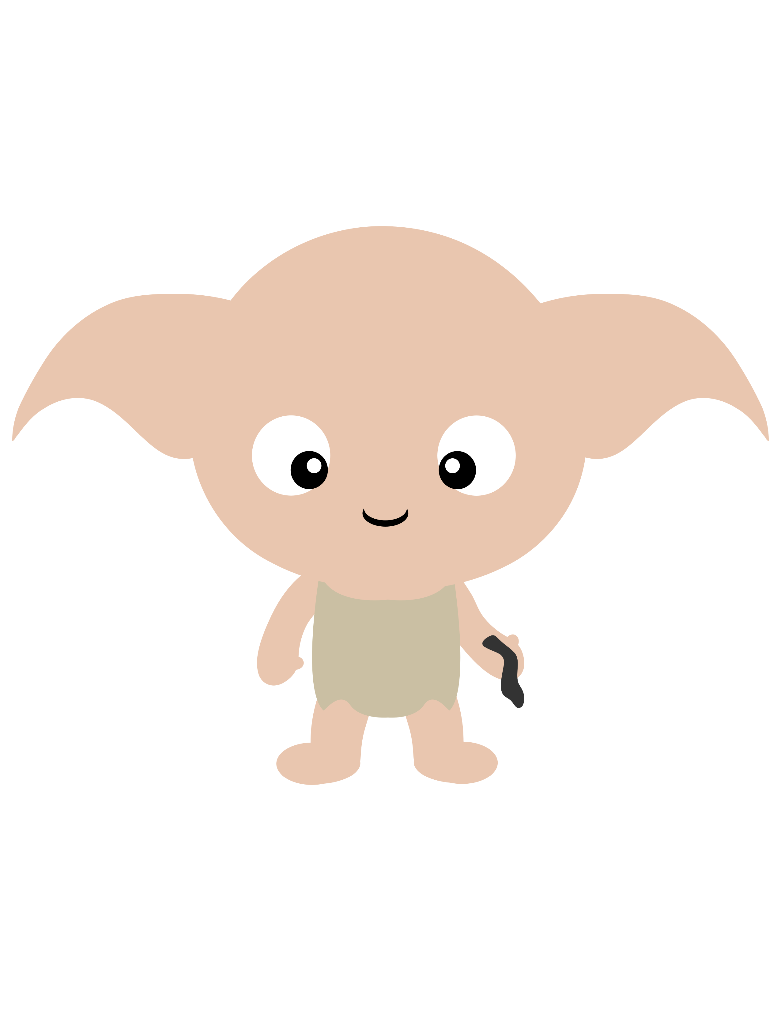 Poor Ol Dobby Well Always Miss You Buddy Dont Forget Him For Your Halloween Party Check Out All The Other Harry Potter Character Clipart Weve Made In