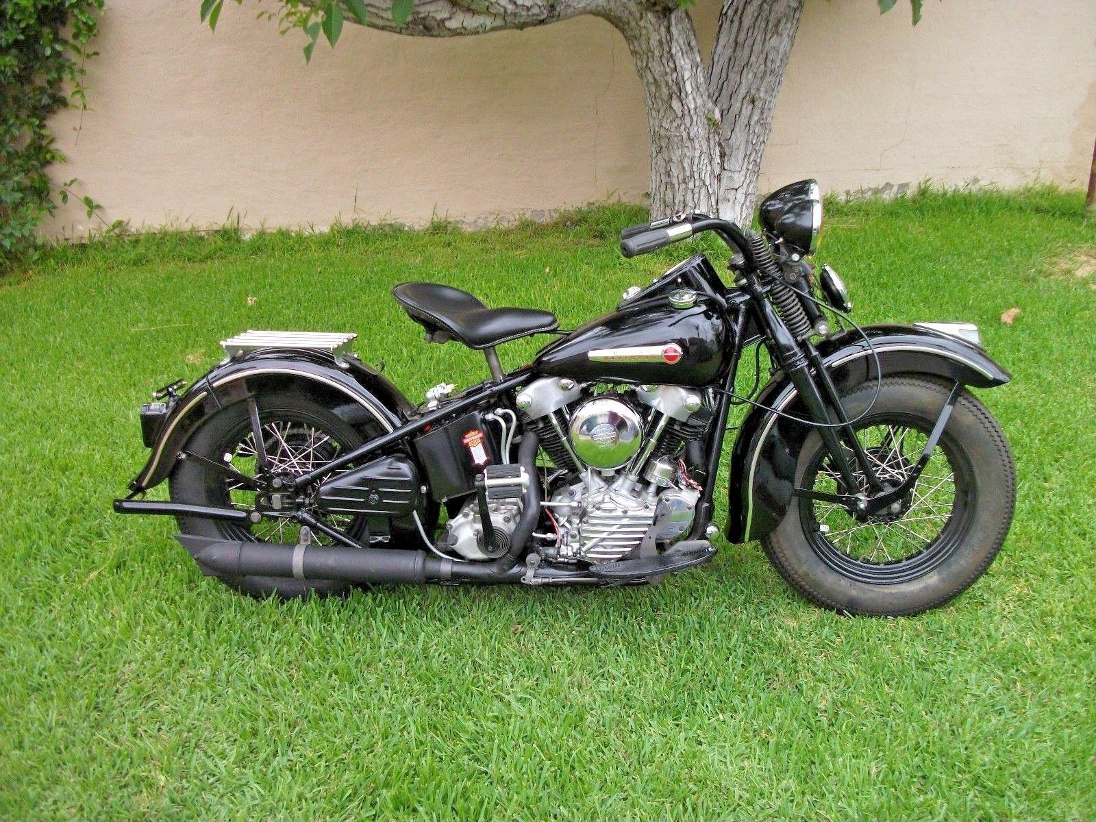 Ebay 1947 Harley Davidson Other 1947 Harley Davidson Fl Knucklehead Harleydavidson Harleydavidsonbobbers