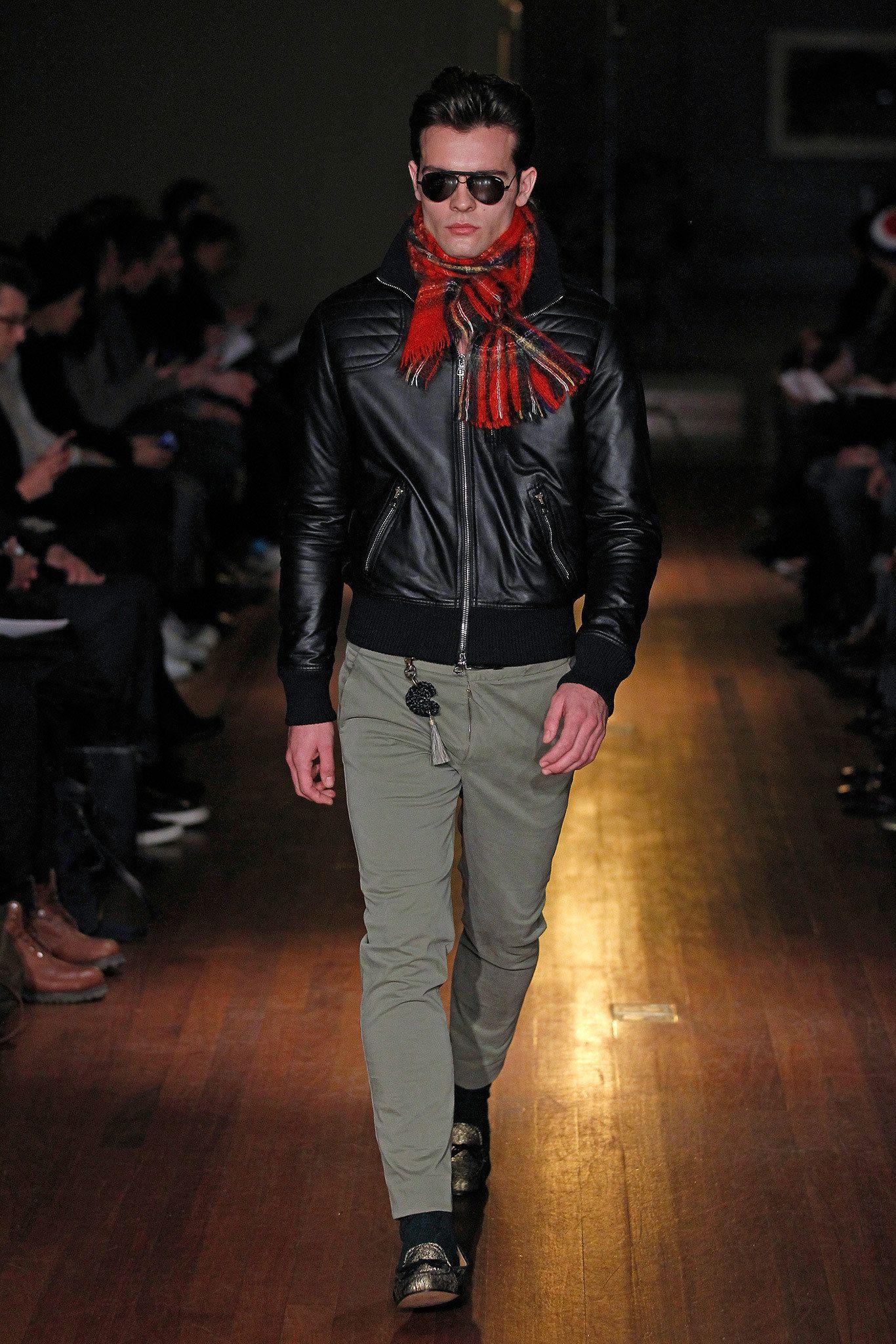 Michael Bastian Fall 2014 Menswear Fashion Show