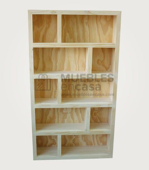 Biblioteca Asia 70/30 | Muebles de Pino con Envío Gratis | Casas ...