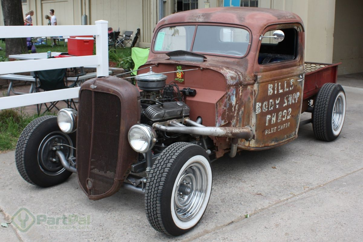 Rat Rod Projects Sale | Chevy trucks with Chevy motors, who would ...