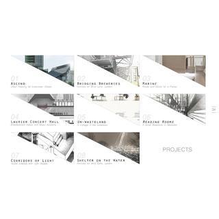 Architecture portfolio portfolio master bewerbung for Architektur design studium