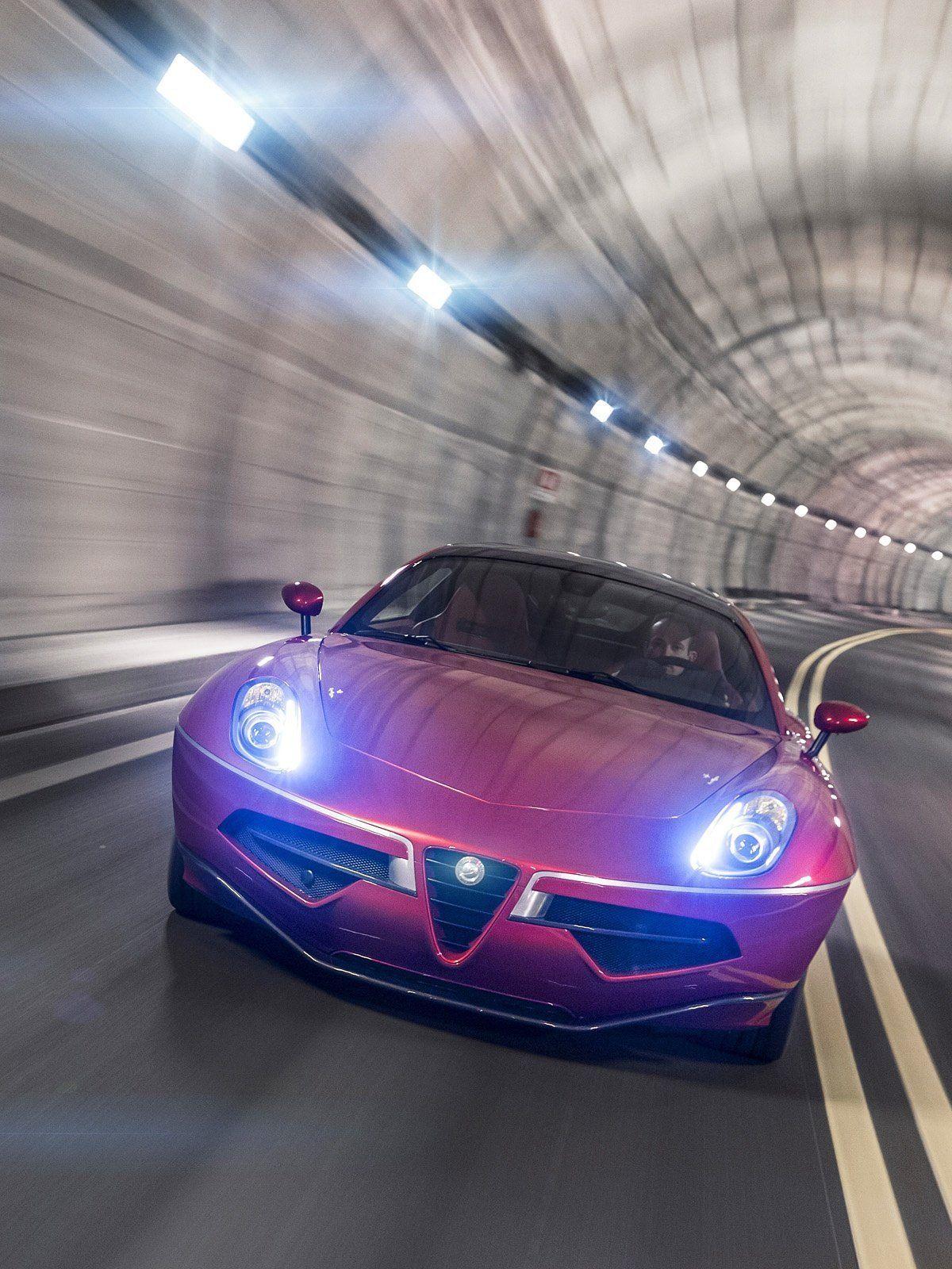 Alfa Romeo Disco Volante mobile wallpaper Alfa Romeo Disco