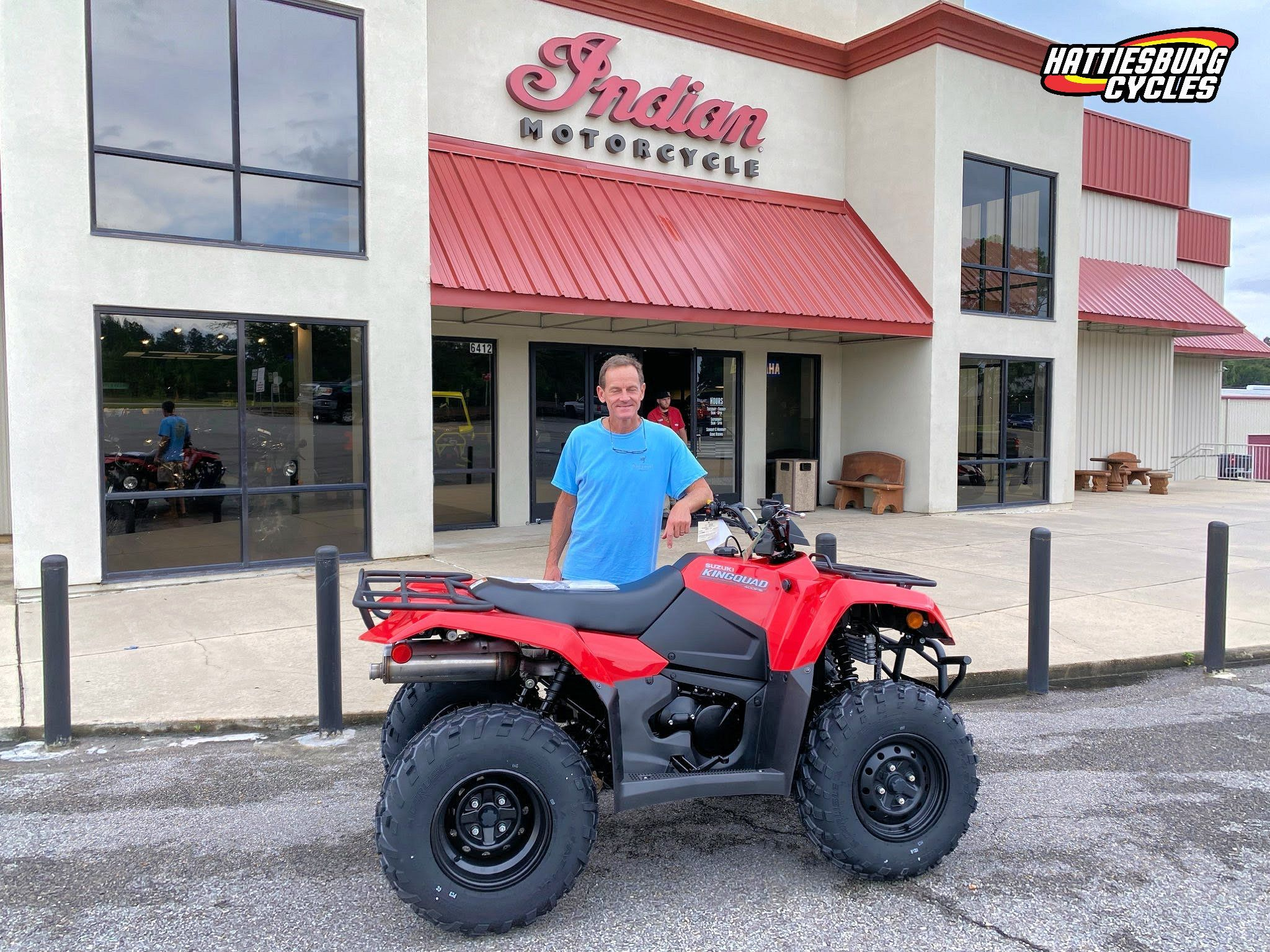 Congratulations To David Mckellar From Purvis Ms For Purchasing A 2020 Suzuki Kingquad 400 At Hattiesburg Cycles Suzuki Hattiesburg Suzuki Monster Trucks