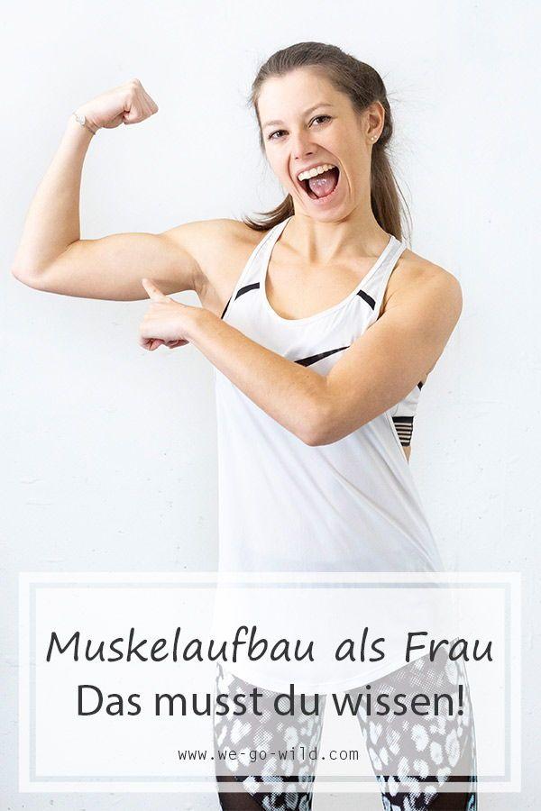 Muskelaufbau als Frau: Mehr Muskeln durch Training und