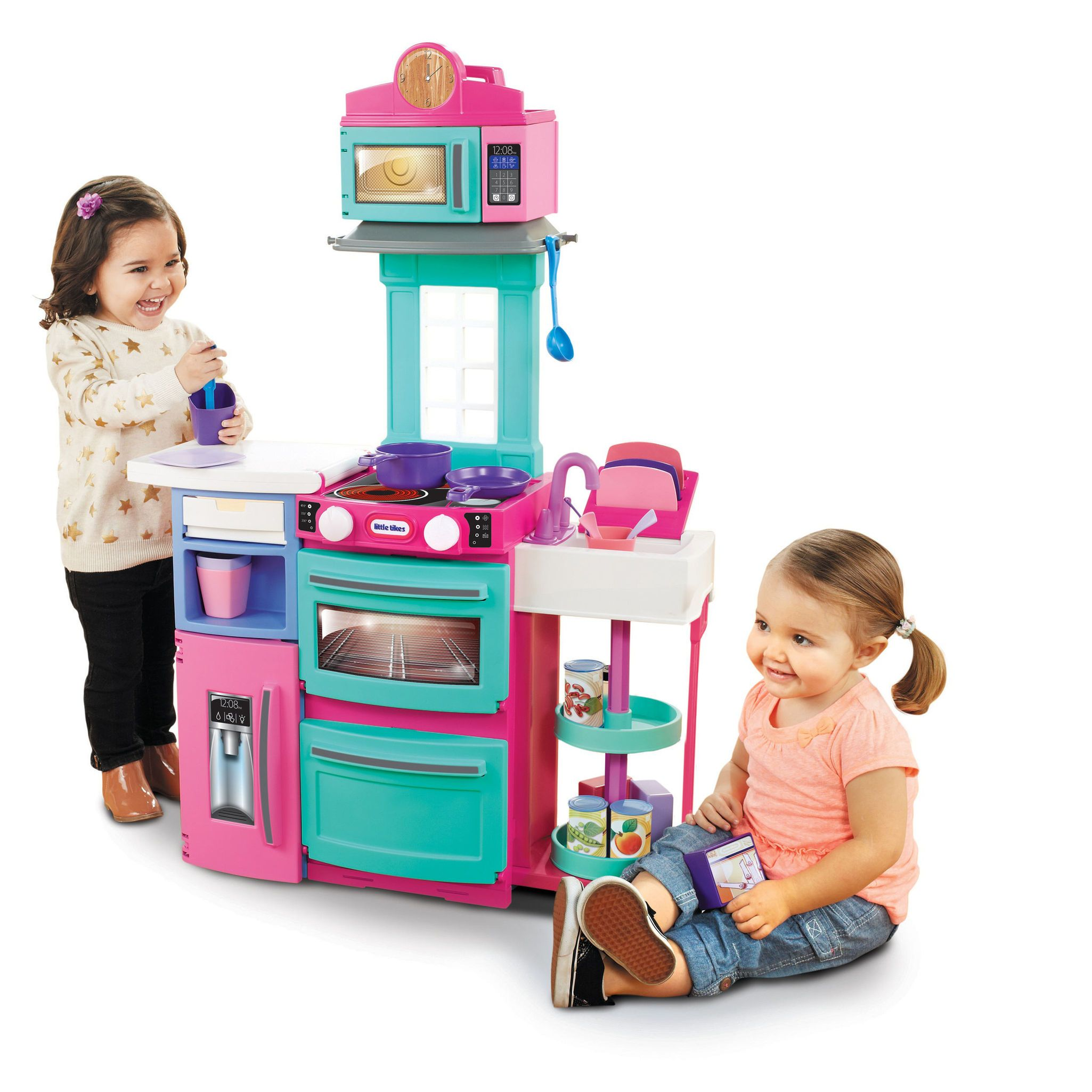 Little Tikes Cook \'n Store Kitchen Playset - Pink | Christmas 2017 ...