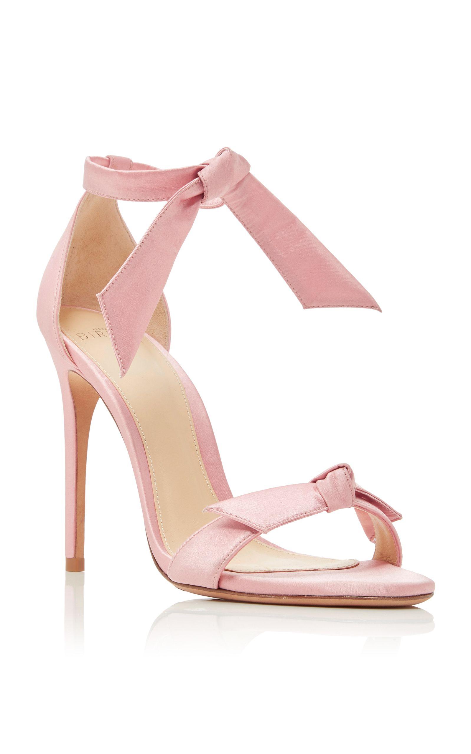 ALEXANDRE BIRMAN M O Exclusive Clarita Satin Sandals.  alexandrebirman   shoes  sandals