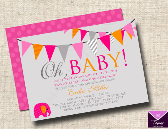 Printable oh baby modern baby shower invitations baby boy or printable oh baby modern baby shower invitations baby boy or girl with free printable back on etsy 1250 filmwisefo