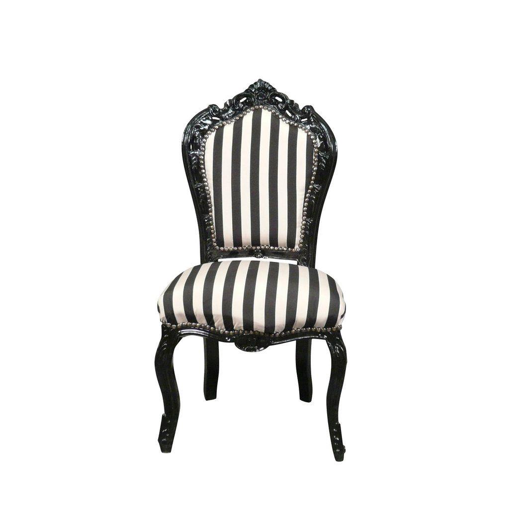 Chaise Baroque Noire Et Blanche Chaise Baroque Chaise Et Chaise Noire