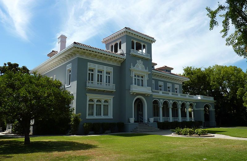Historic Houses of California - Fresno - H H Brix Mansion - 1911 - fresh fresno county hall of records birth certificate