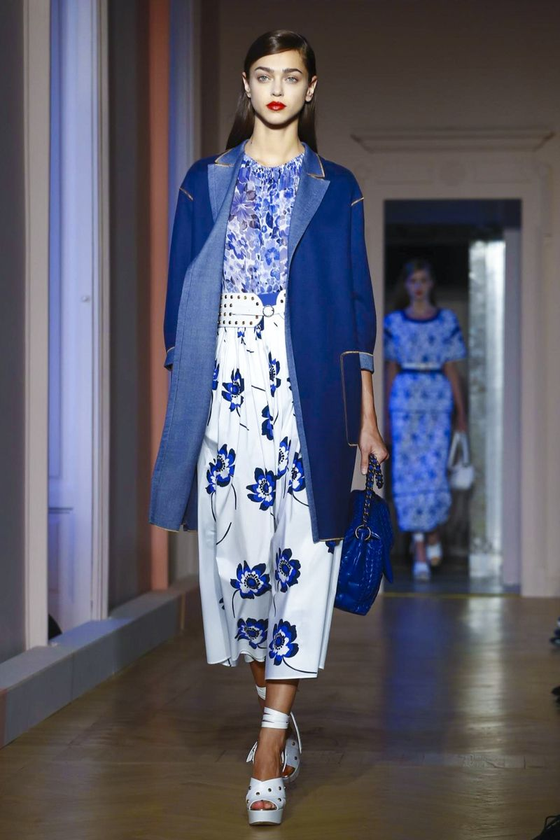 Agnona Fashion Show Ready to Wear Collection Spring Summer 2017 in Milan