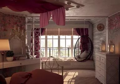 комната девушки в стиле прованс: 11 тыс изображений ...