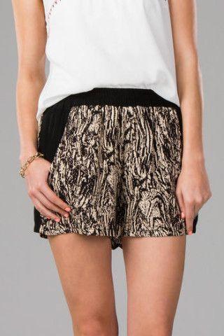 Makiki Printed Shorts